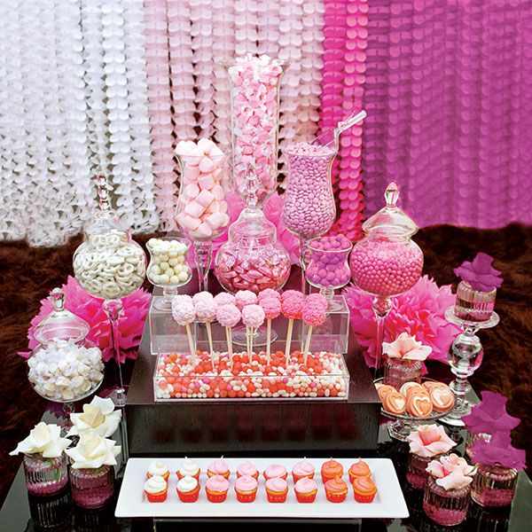 Pink Ombre Candy Bar