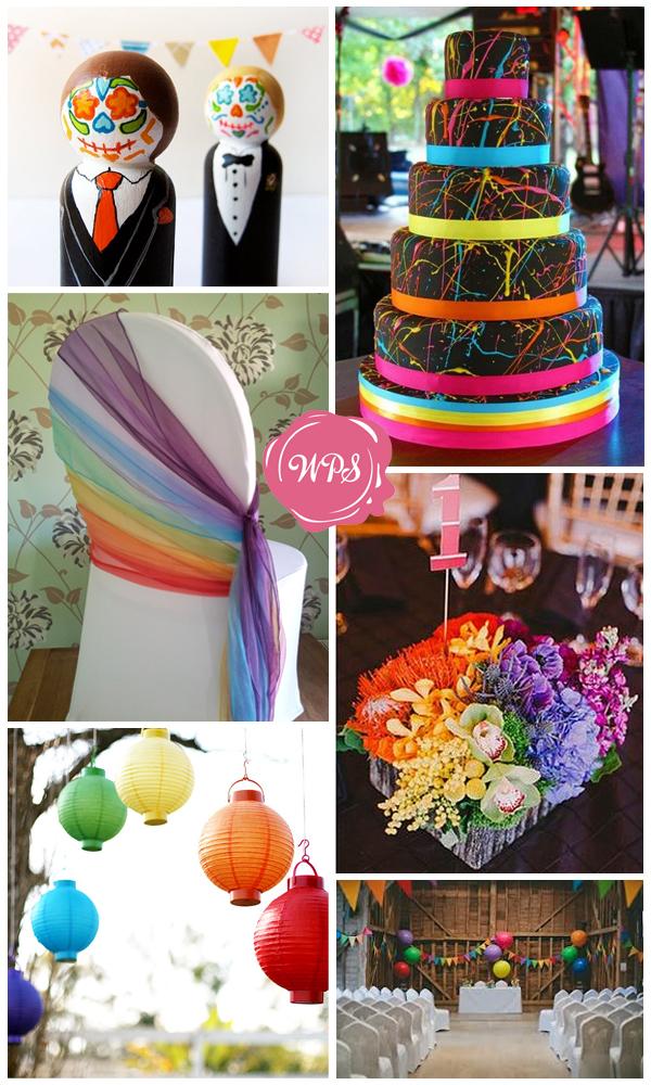 rainbow colour scheme