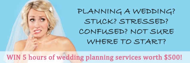 Win a wedding planner